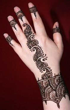 Fashionable Mehndi Designs