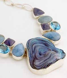 2015 Jewelry Trends: Rough Stuff.  Jewelry designers and editors are in love with raw stones…look for them in necklaces, bracelets, rings, and earrings in the year ahead.