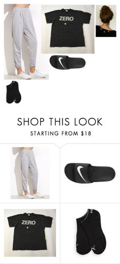 """""""Untitled #513"""" by dalyialashea on Polyvore featuring NIKE and Puma"""
