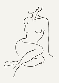 line art Minimalistic nude print figure print nude female line art Minimal Drawings, Minimal Art, Art Drawings Sketches, Outline Art, Minimalist Drawing, Abstract Line Art, Painting & Drawing, Figure Drawing, Art Inspo