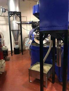 Trabattoni Impianti Torrefazione SNC 60kg Roaster. #shropshirecoffeeltd