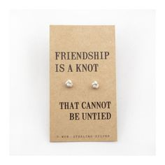 'Friendship is a knot that cannot be untied.' Remind a friend of your special bond!