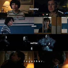 """794 Likes, 10 Comments - stranger things ♡ (@bluehawkins) on Instagram: """"[Be together] Q: What's your favorite moment in season 2 ? A: Every single moment in the last…"""""""