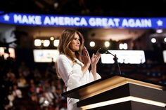 Melania Trump's speech appears to have cribbed from Michelle Obama's in 2008