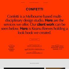 Fonts Used: Optima, Akzidenz Grotesk #Typewolf Typography Inspiration