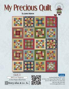 My Precious quilt 2 - panel blocks