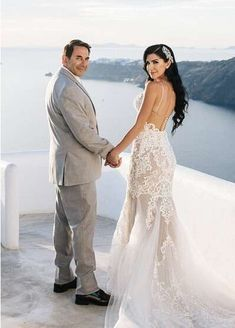 Dr. Paul Nassif is out of the office! Or at least he was yesterday. The surgical fixer-upper and Botched personality took some time away from the OR this past weekend—as in 7,000 miles away—for a very special reason. The Los Angeles based medical specialist celebrated just-married life with Brittany Pattakos in Santorini on Sunday, Oct. […] The post Botched's Dr. Paul Nassif Is Married! See the First Photos of His Santorini Wedding Reception appeared first on RoyalBabyCollection.com.
