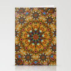 Aztec paisley Stationery Cards by Joe Paczkowski - $12.00