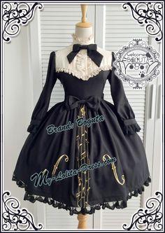 Boguta ~The Voice of the Cello~ Lolita OP Dress - My Lolita Dress