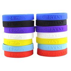 3b80c96cf Kobe Bryant Silicone Wristbands - Dashing Promo Ltd