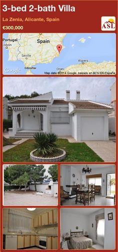 3-bed 2-bath Villa in La Zenia, Alicante, Spain ►€300,000 #PropertyForSaleInSpain