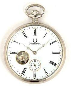 Desperado Park City Chrome Plated Limited Edition Pocket Watch Desperado. $249.97