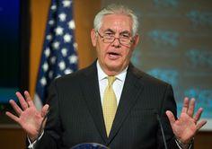 North Korea: US not seeking regime change says Rex Tillerson - BBC News Foreign Service Officer, Rex Tillerson, Latest International News, Twenty Two, Cbs News, News Articles, Donald Trump, Face, People