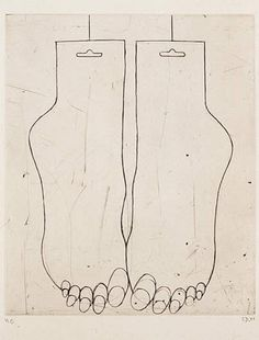Louise Bourgeois, Feet.
