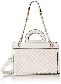 858b0a54118a MG Collection Sylvia Quilted Tote Shoulder Bag Shoulder Bag