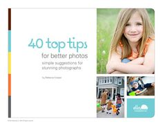 40 Top Tips for Better Photos by simpleasthatdigishop on Etsy