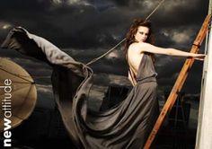 Nuria Bela: Fotos para New Attitude Magazine  Siento debilida...