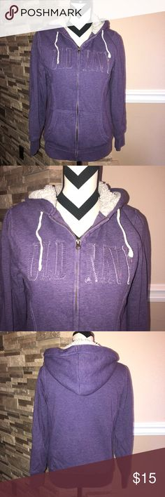 Purple Old Navy Zip Up Hoodie Good condition Old Navy Sweaters