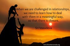 Words of Wisdom from Sri Vasudeva