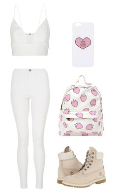 """""""Wild heart"""" by amandacaniff ❤ liked on Polyvore featuring Narciso Rodriguez, Quiz, Timberland and Topshop"""
