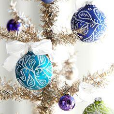 arquiteturadoimóvel: Natal 2011: personalise seus enfeites natalinos, é fácil e divertido