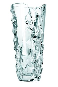 Nachtmann Fine Bavarian Crystal which is the Life Style Division of Riedel Glassworks offers Sculpture lead crystal round vase which is a beautiful gift to give or to keep for your own collection. Crystal Glassware, Crystal Vase, Vase Centerpieces, Vases Decor, Vase Cristal, Old Vases, Antique Vases, Vase Design, Vase Crafts