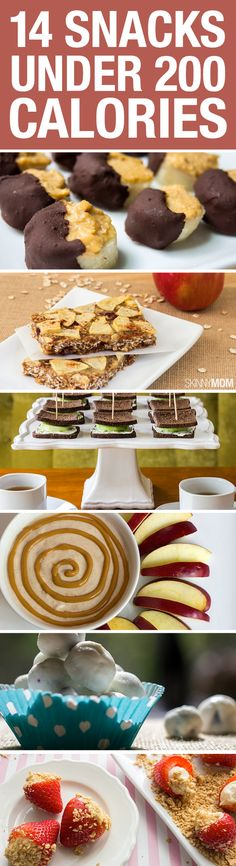 Need a snack? Grab one of these for under 200 calories.