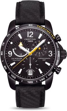 Certina Watch DS Podium Big Size Chrono GMT Quartz #best-seller-yes #bezel-fixed #bracelet-strap-leather #brand-certina #case-material-black-pvd #case-width-42mm #chronograph-yes #date-yes #delivery-timescale-7-10-days #dial-colour-black #gender-mens #gmt-yes #luxury #movement-quartz-battery #official-stockist-for-certina-watches #packaging-certina-watch-packaging #style-sports #subcat-certina-gmt #subcat-ds-podium #supplier-model-no-c001-639-16-057-01…