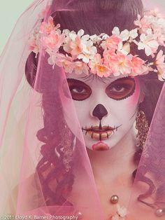 Sugar Skull Makeup-Halloween next year??