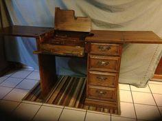Oak Sewing Machine