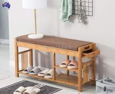 Find More Shoe Cabinets Information about Bamboo Shoe Bench Rack with Cushion Upholstered Padded Seat Storage Shelf Organizer Bench for Bedroom Living Room Hallway Foyer,High Quality Shoe Cabinets fro Shoe Bench, Bench With Shoe Storage, Seat Storage, Storage Shelves, Wall Bookshelves, Wall Mounted Shelves, Coffee Table Metal Frame, Bamboo Shelf, Space Saving Furniture