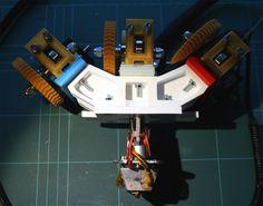 3-way Quick-fit Extruder and Colour Blending Nozzle by RichRap.