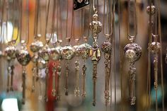 I often get asked where I buy jewelry in Istanbul, mostly by people who are soon about to make a trip there and want some information abou. Tribal Jewelry, Silver Jewelry, Unique Jewelry, Jewelry Shop, Jewelry Stores, Visit Turkey, Grand Bazaar, Turkish Jewelry, Bindi
