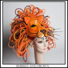 Hey, I found this really awesome Etsy listing at https://www.etsy.com/listing/182484119/rrrroar-lion-headdress