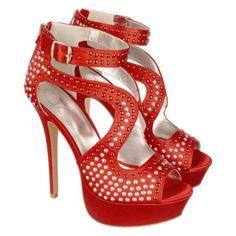 Jenni Rivera Women s Studded High Heel Jacklyn-127 aa66f31b4