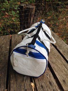 cae19b8f9044 Recycled Nautical Sail Cloth Duffle bag