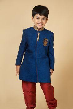 Velvet sherwani with zardozi embroidery. Item number KB15-01