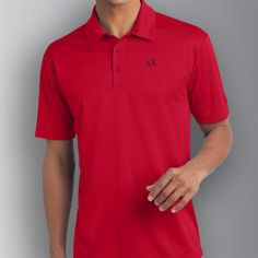 Delta Chi Red Performance Polo