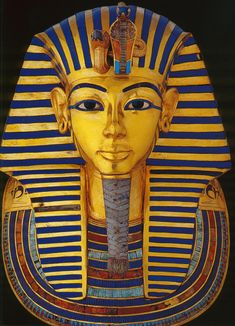 Egypt — awesomepharoah: Gold Mask of Tutankhamun, ca....