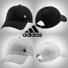 Adidas W Ess Baseball Cap Hat Black or White Unisex OSFA Post Free