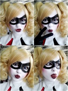 Character: Harley Quinn (Dr. Harleen Quinzel) / From: DC Comics 'Harley Quinn' & DCAU's 'Batman: The Animated Series' / Cosplayer: Blossom of Faelivrin (aka Jasmin Skellington)