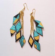 Diva. by quappe - SAShE.sk - Handmade Náušnice, earrings