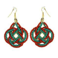 Fashion jewelry costume colorful beaded earrings asian indian: ShalinCraft: Amazon.co.uk: Jewellery
