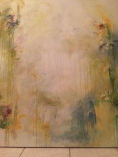 Untitled Warm rain Mixed medium 48x48 Paddy Lynn mccavour