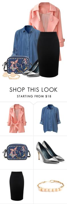 """""""Untitled #721"""" by flipars on Polyvore featuring Valentino, Sergio Rossi, Alexander McQueen and Bounkit"""