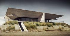 House no. Architecture, modelling, rendering and p-production: Adam Spychała Angular Architecture, Architecture Visualization, Space Architecture, Modern Architecture House, Amazing Architecture, Modern Houses, Desert Homes, Tropical Houses, Little Houses