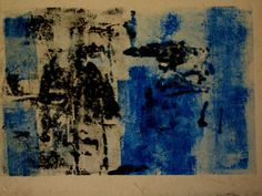 """Love this. Susan Grissom, """"Monotype No.3"""", inks on japanese paper"""