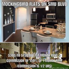 """Mockingbird Flats on SMU Blvd: running a special right now so better jump on it before it's gone. Once you add up the 1st month rent concession and the money u get back from putting """"Help Urself Leasing"""" as ur referral that's at least $1000 in ur pocket just for moving (even for leasing the smallest 1 bedroom available). #mockingbirdflats #leasing #lease #rent #realestate #apartmentlocator #apartments #condos #dallas #uptown #smu #helpurself #sundayfunday #helpurselfleasing…"""