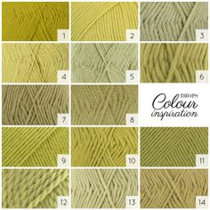Juicy lime or delicious pistachio? Which one do you choose? #colour #inspiration #yarnlove