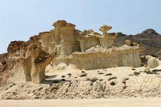 Las Gredas en la playa de Bolnuevo, Mazarrón. #murcia #españa #viajes #turismo #travel